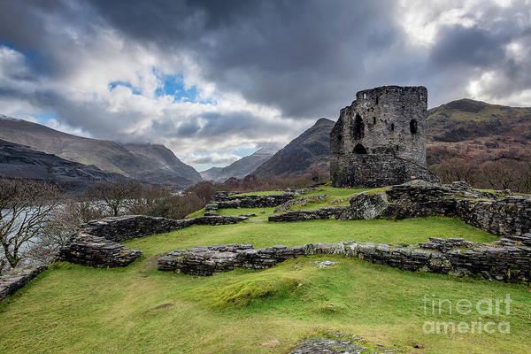 Wall Art - Photograph - Dolbadarn Castle Snowdonia by Adrian Evans