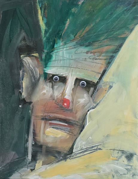 Painting - Dolf With Eyes by Tim Nyberg