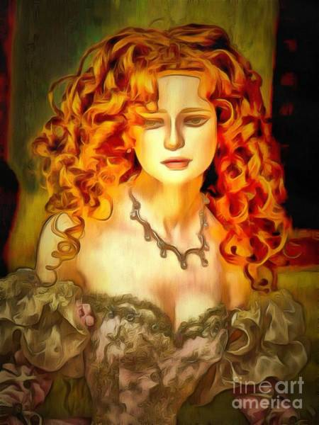 Painting - Doll Collectable She by Catherine Lott
