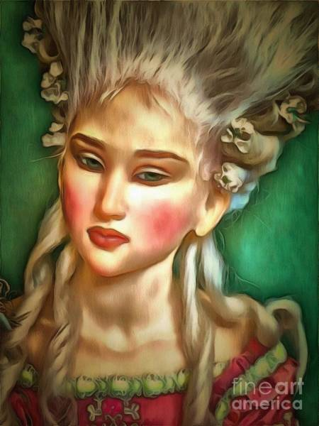 Painting - Doll In Ambiance by Catherine Lott