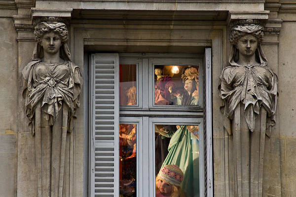 Photograph - Doll Shop Window by Harry Spitz
