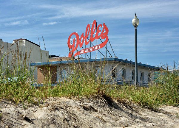 Rehoboth Beach Photograph - Dolles Candyland - Rehoboth Beach Delaware by Brendan Reals