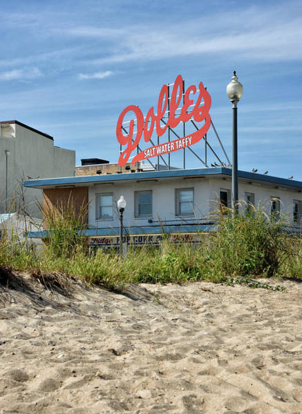 Rehoboth Beach Photograph - Dolles From The Beach - Rehoboth Beach Delaware by Brendan Reals