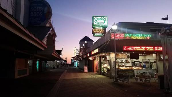 Photograph - Dolle's On The Boardwalk by Robert Banach