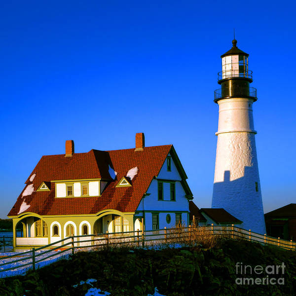 Photograph - Dollhouse Portland Head Light by Olivier Le Queinec
