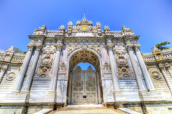 Wall Art - Photograph - Dolmabahce Palace Istanbul Turkey by David Pyatt