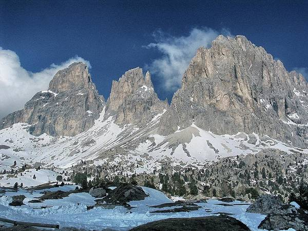 Photograph - Dolomites 1 by Ingrid Dendievel