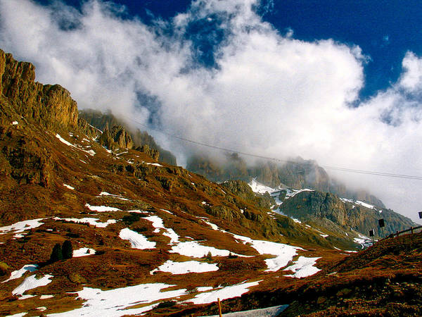 Photograph - Dolomites 2 by Ingrid Dendievel