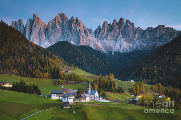Wall Art - Photograph - Dolomites Twilight by JR Photography