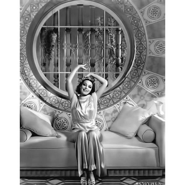 Photograph - Dolores Del Rio by Chuck Staley