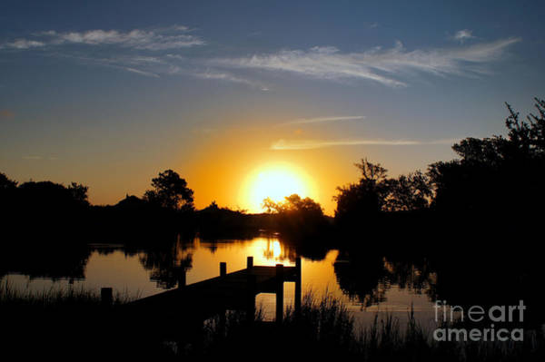 Crystal Coast Photograph - Dolphin Cove Sunrise by Benanne Stiens