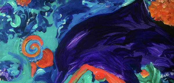 Painting - Dolphin Dreams by Nicki La Rosa