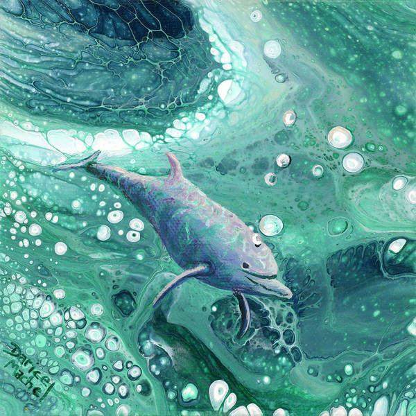 Painting - Dolphin Magic by Darice Machel McGuire
