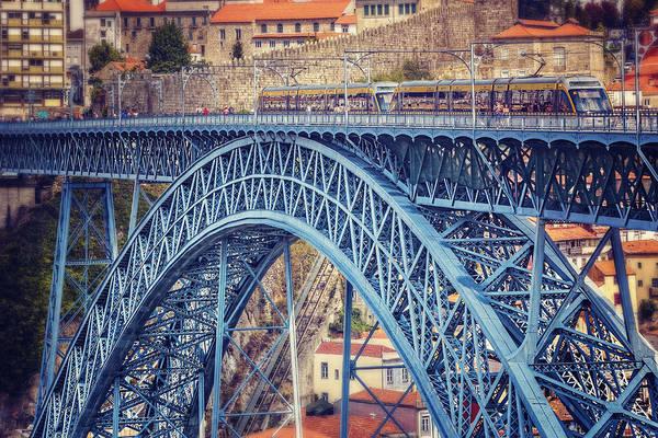 Portuguese Photograph - Dom Luis Bridge Porto  by Carol Japp