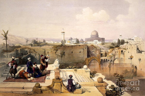 Wall Art - Photograph - Dome Of The Rock, Jerusalem, 1846 by Wellcome Images