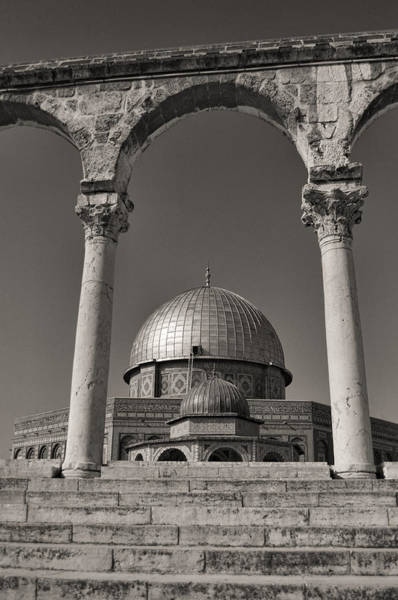 Church Of The Holy Sepulcher Photograph - Dome Of The Rock by Jos Mosis