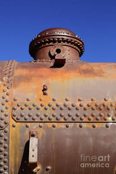 Photograph - Dome Rust And Rivets Vertical by James Brunker
