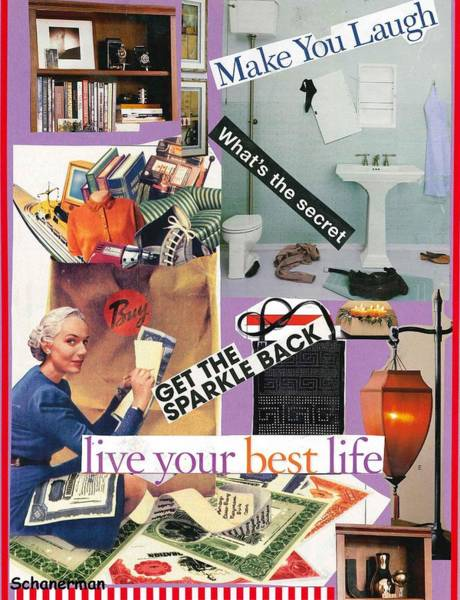 Mixed Media - Domestic Magic by Susan Schanerman