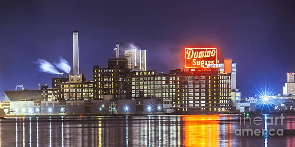 Wall Art - Photograph - Domino Sugars by Stacey Granger