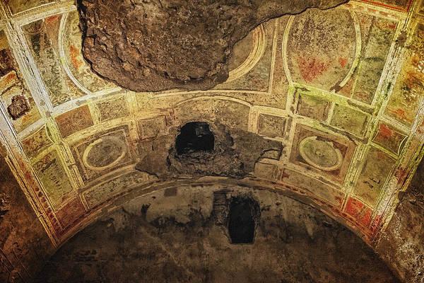 Photograph - Domus Aurea Ceiling Breach by Adam Rainoff