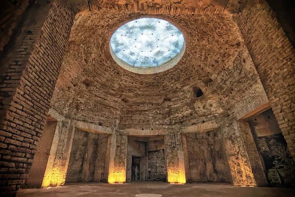 Photograph - Domus Aurea Rotunda by Adam Rainoff