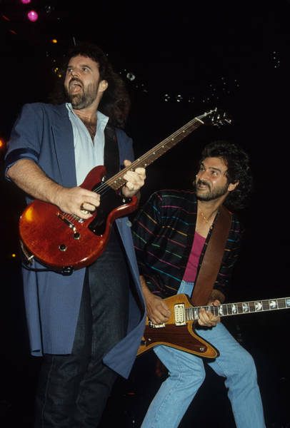 Don Barnes And Jeff Carlisi Of 38 Special Art Print