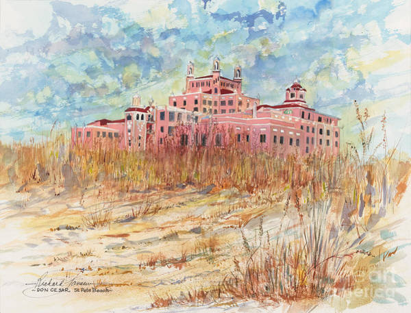 Cesar Wall Art - Painting - Don Cesar by Richard Jansen