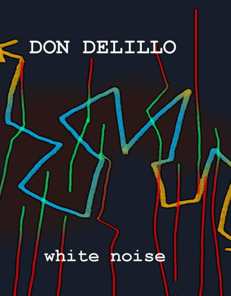 Don Delillo Poster  Art Print
