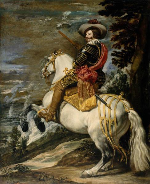 Velazquez Wall Art - Painting - Don Gaspar De Guzman, Count-duke Of Olivares by Diego Velazquez