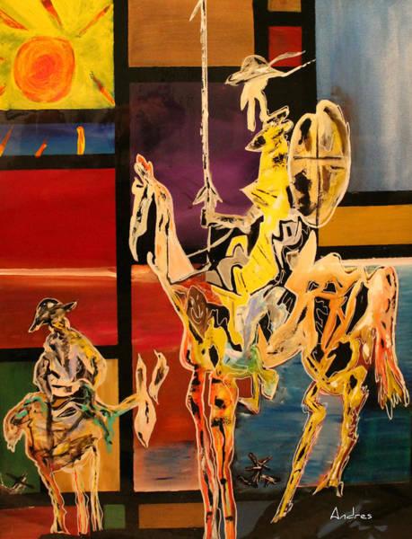 Man Of La Mancha Wall Art - Painting - Don Q by Andres Gonzalez