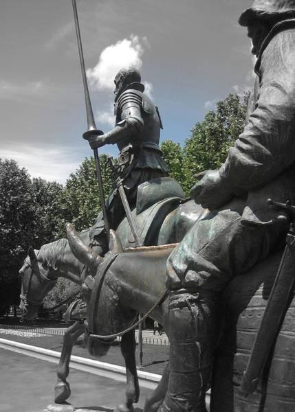 Man Of La Mancha Wall Art - Photograph - Don Quixote by JAMART Photography