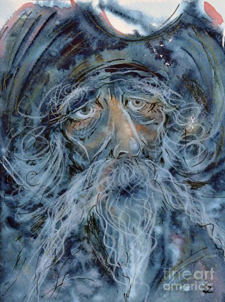 Man Of La Mancha Wall Art - Painting - Don Quixote. The Great Dreamer by Zaira Dzhaubaeva