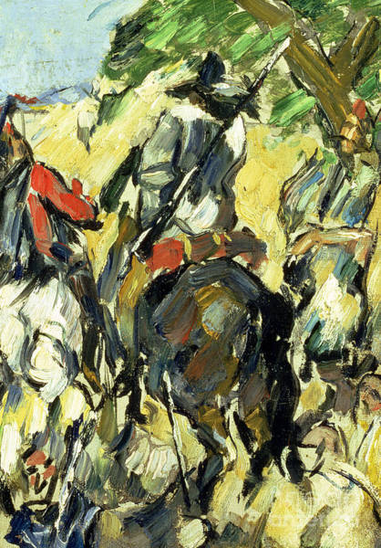 Wall Art - Painting - Don Quixote, View From The Back by Paul Cezanne