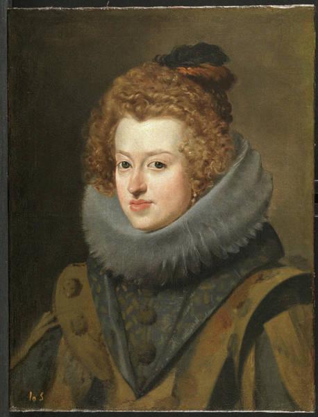 Velazquez Wall Art - Painting - Dona Maria De Austria, Queen Of Hungary by Velazquez
