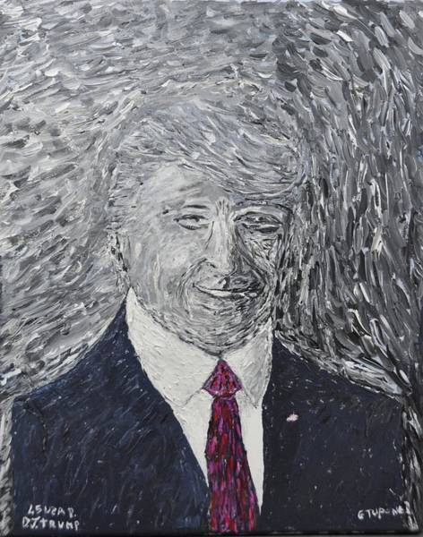 State Of Being Painting - Donald J. Trump  by Gino Tupone