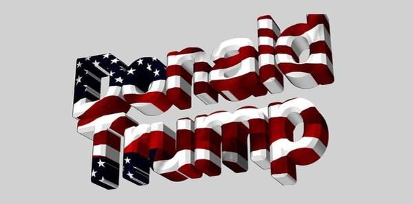 Digital Art - Donald Trump by Ericamaxine Price