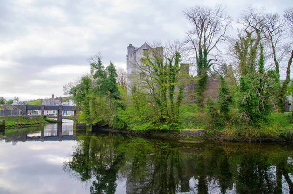 Photograph - Donegal Castle Ruin - Ireland by Bill Cannon