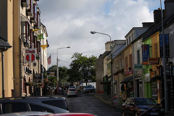 Photograph - Donegal Town 4118 by John Moyer