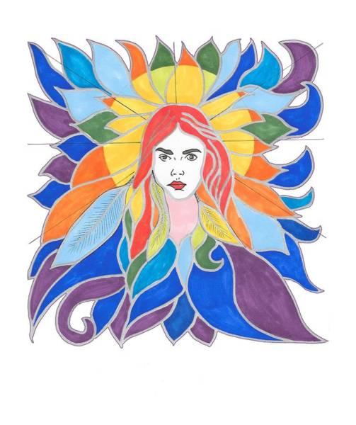 Donna Soul Portrait Art Print