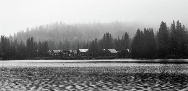 Donner Photograph - Donner Lake Houses by Adam Kilbourne