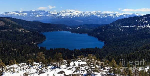 Donner Photograph - Donner Lake by Thomas Marchessault