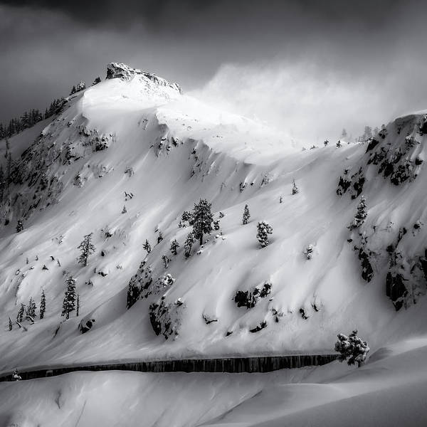 Donner Photograph - Donner Peak Revealed by Steve Spiliotopoulos