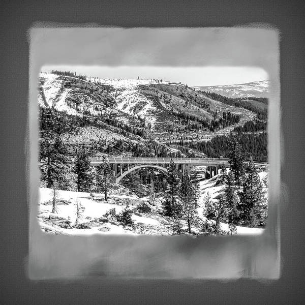 Donner Photograph - Donner Summit Bridge by Donna Kennedy