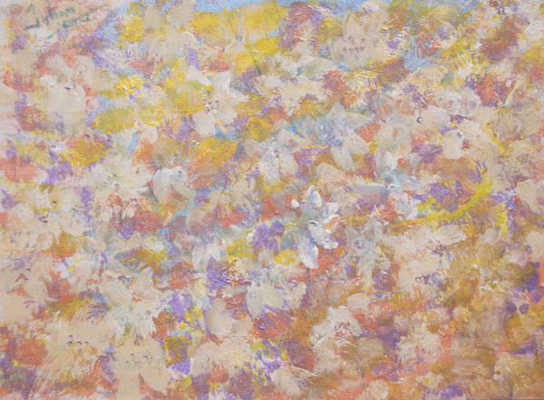 Emanate Painting - Don's Wildflowers by Don  Wright