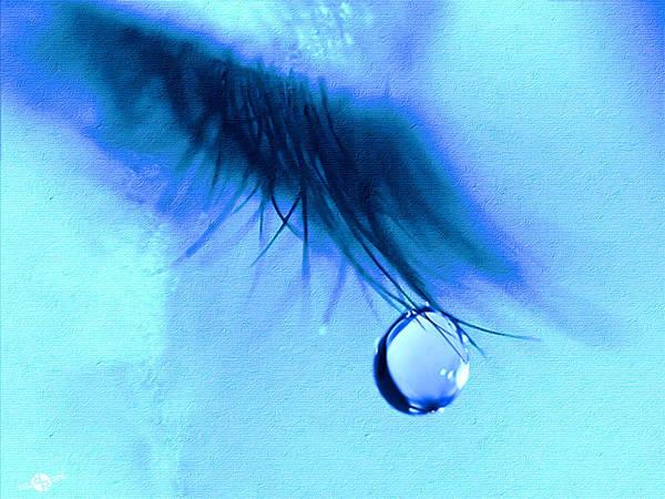 Painting - Don't Cry by Tony Rubino