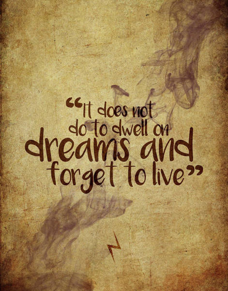 Snape Wall Art - Digital Art - Don't Dwell On Dreams by Samuel Whitton