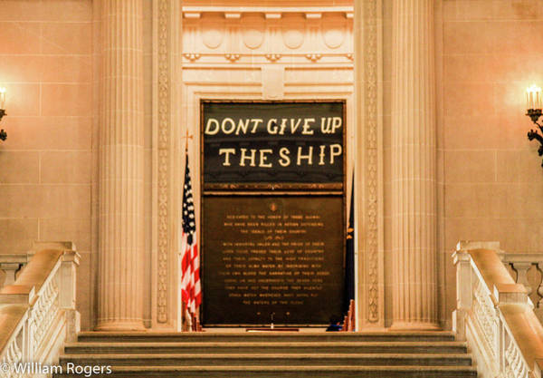 Wall Art - Photograph - Dont Give Up The Ship by William Rogers