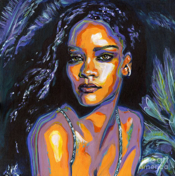 Painting - Rihanna by Tanya Filichkin