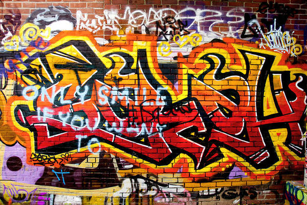 Wall Art - Photograph - Don't Ignore The Writing On The Wall by Greg Fortier