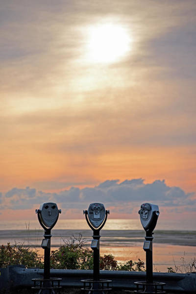 Photograph - Don't Look Directly Into The Sun Chatham Ma Cape Cod Trio by Toby McGuire
